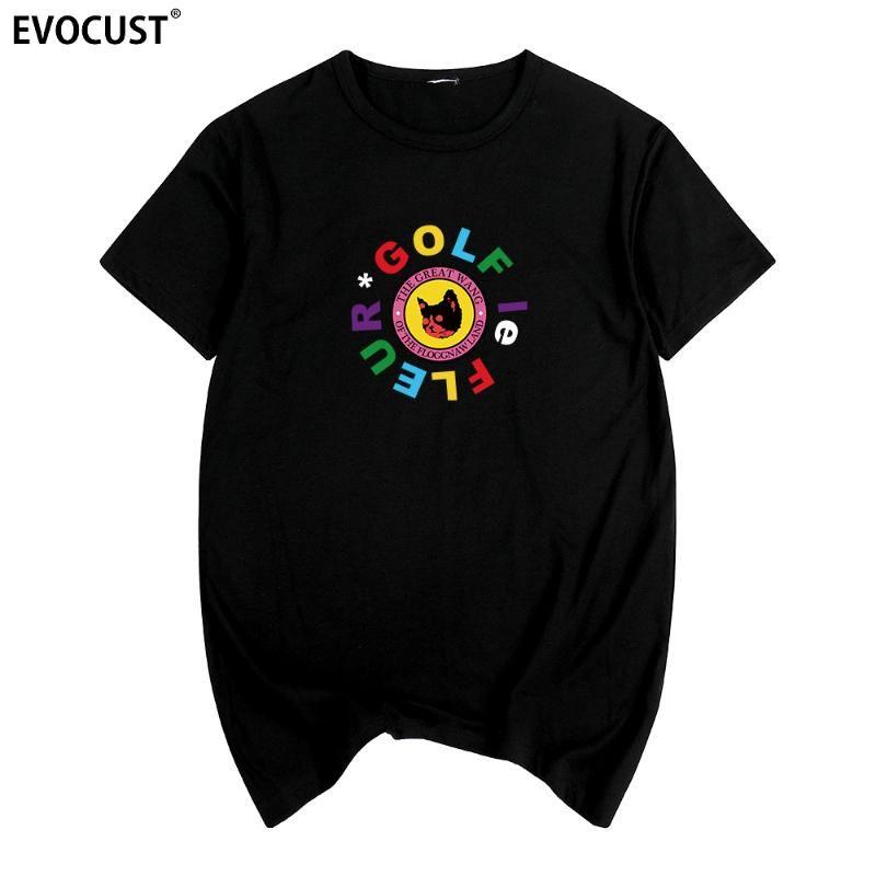 Le Fleur gato flor Golf Wang voto Igor Tyler The Creator camiseta de la camisa de algodón para hombres T Nuevos tee camiseta para mujer