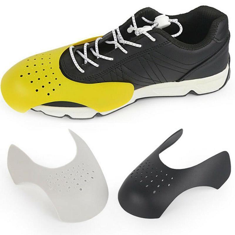 1 paio di piegatura Crack pattino di punta barella Protector Sneaker Shield Cap Supporto universale Shaper lavabile Leggero Anti piega