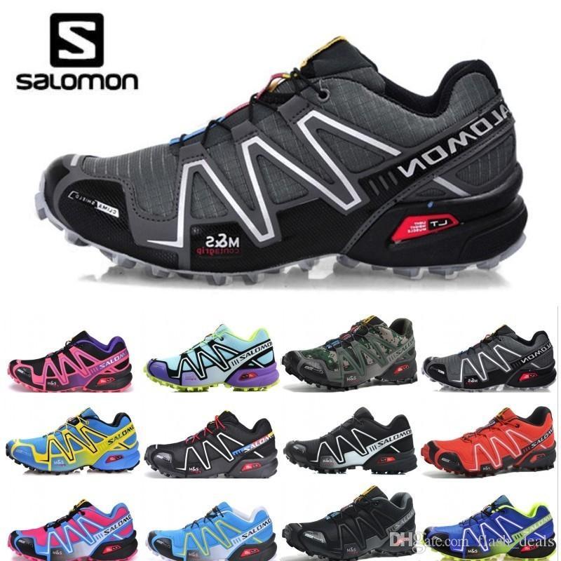 2019 Designer Salomon Speed Cross 3 CS Mens Womens Running