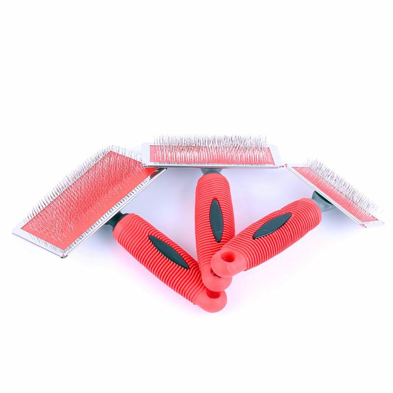 Süper Rahat Yumuşak Plastik Saplı Pet Gill Kırmızı Plastik Saplı Pet Gill Ekstra Küçük