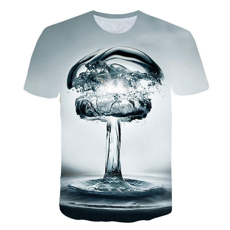 Summer Men 3D T-shirt Beer Time Short Sleeve O-Neck Fashion Funny 3D Printed T Shirt Casual Men Tops Tees Streetwear tshirt