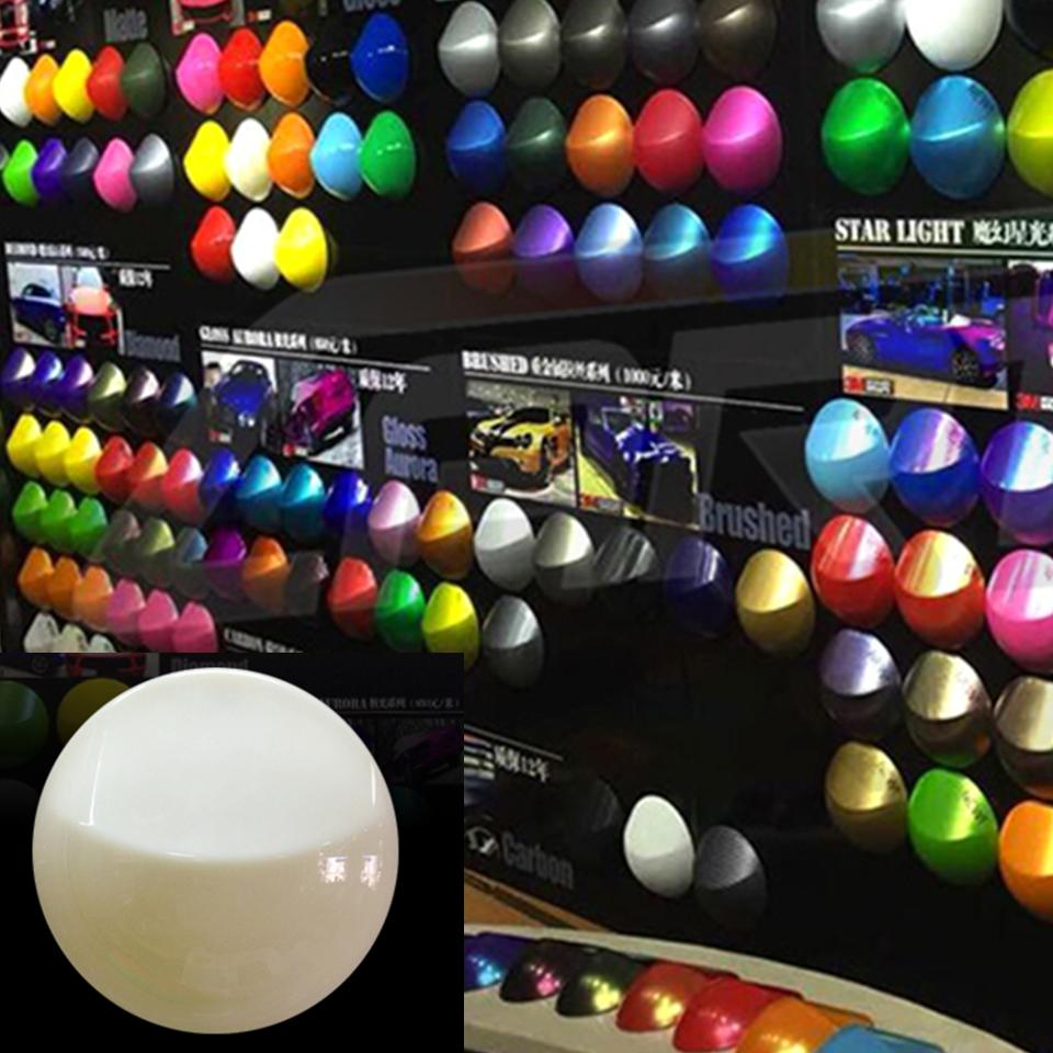New! 13.5*13.5cm Vechile vinyl wrapping color display model for car wrap & palsti dip paint application showing MO-A8