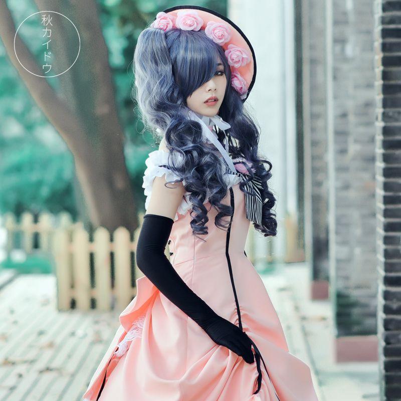 Black Butler kuroshitsuji Ciel Phantomhive Cosplay Costume Custom Made any size