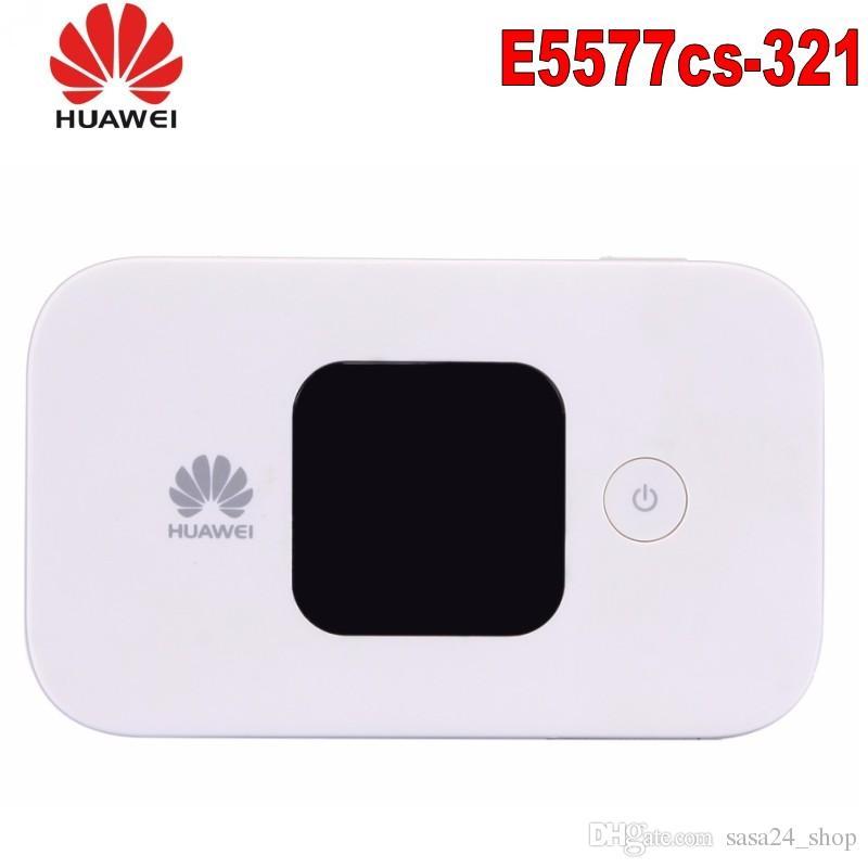 Huawei E5577 e5577cs-321 4G LTE Cat4 Mobile Hotspot Mobile Router Carfi 4G 150Mbs Mifi Modem مع فتحة بطاقة SIM