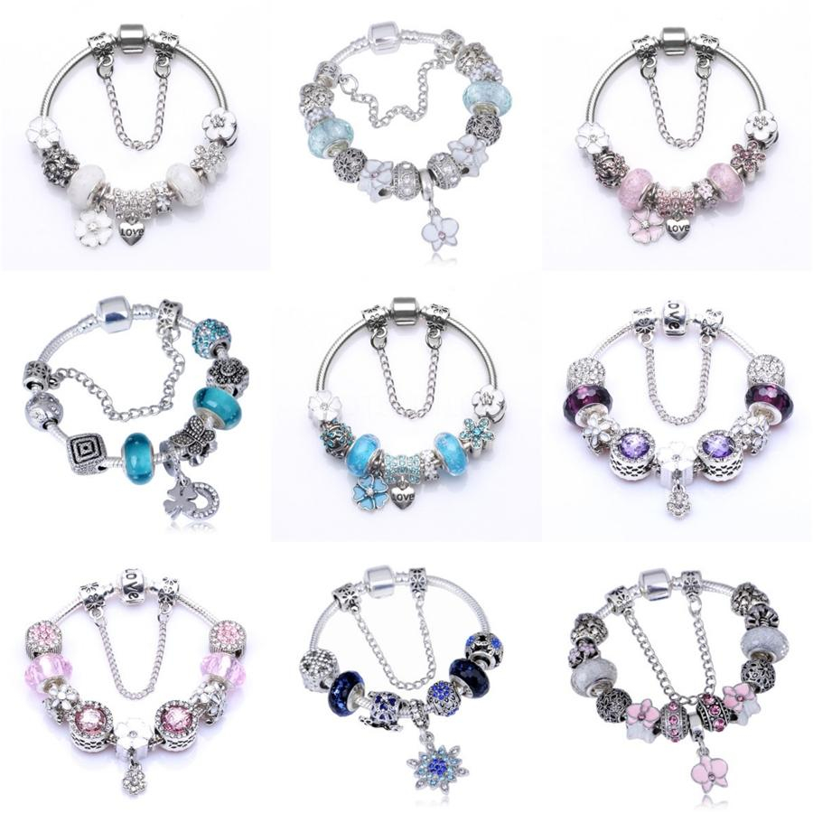 Bbee Bracelet Women Snake Bracelets Diy Jewelry Gift Base Chain Fit Pandoa Bracelet Charms Love Gifts For Women Jewelry#283