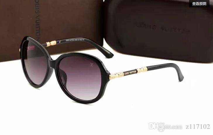 Occhiale da sole polarizzato di alta qualità Occhiali da sole fashion per uomo e donna Occhiali da sole vintage da uomo firmati Brand Design 3017
