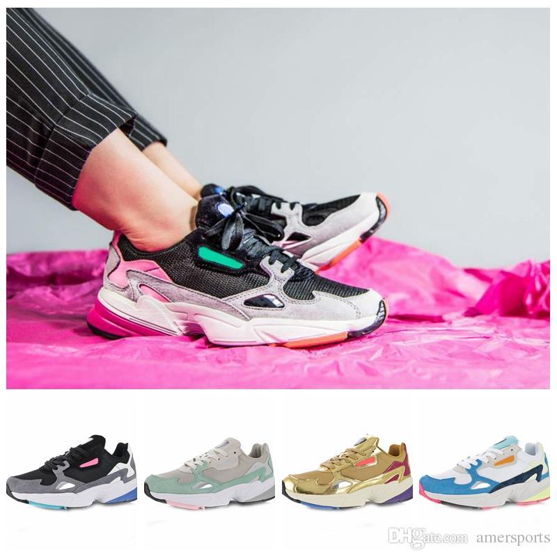 Compre 2018 Adidas Falcon W Zapatillas De Running Para Mujer Hombre  Diseñador Zapatillas Deportivas Runner Casual Traners Luxury Shoes Tamaño  36 45 A ...
