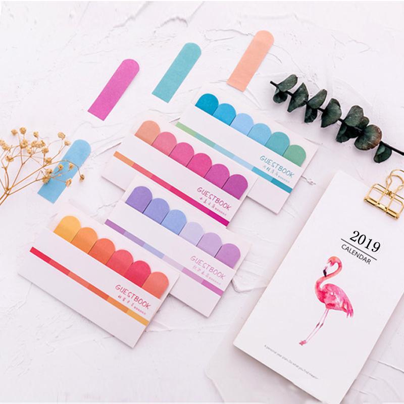120 Sayfa Sevimli Kawaii Memo Pad Yapışkan Notlar Kırtasiye Sticker Endeksi Yayınlanan BT Planlayıcısı Çıkartmalar Notepads Ofis Okul Malzemeleri Sweet07