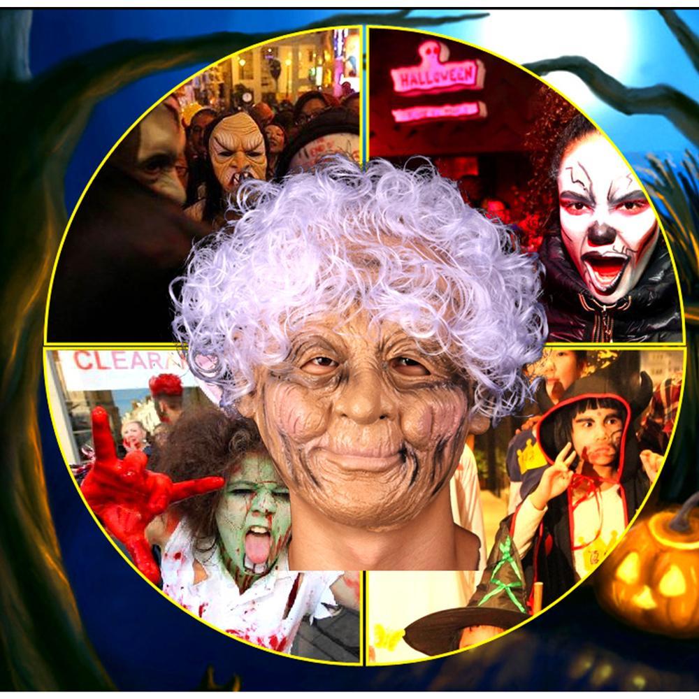 Маска Смешного Simulation старичок маски косплей высокого качество силиконовых партий Хэллоуин украшение Маска реквизит