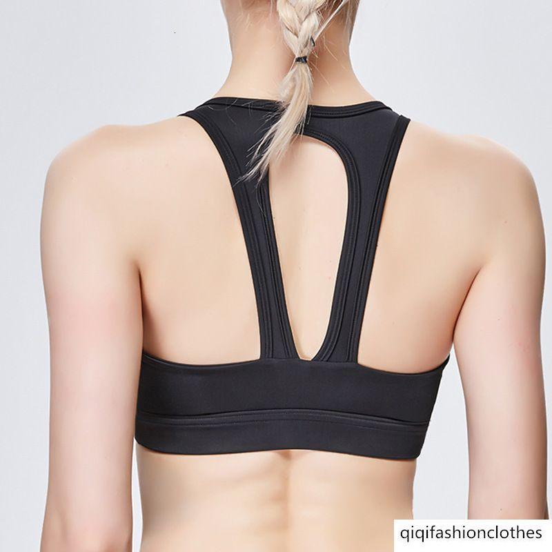 Yoga Vestuário Feminino força à prova de choque Sports Vest Código Big Reunam Academia Bra respirável velocidade seco Beauty Voltar Bra