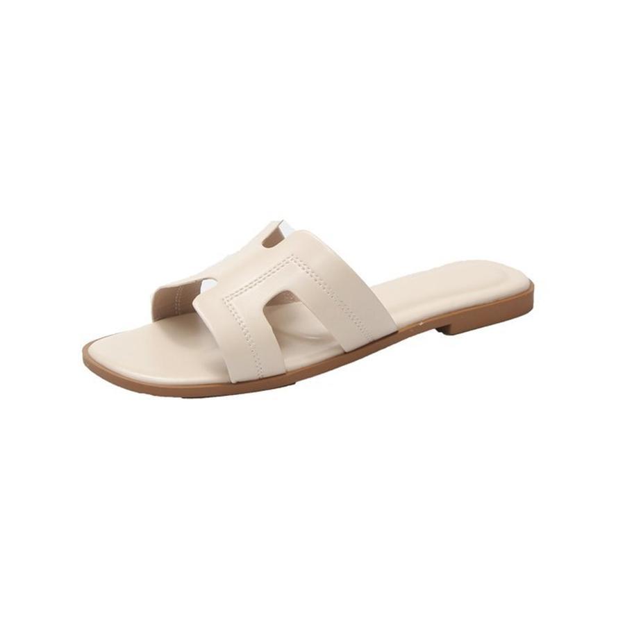 Erkekler Plaj Ayakkabı 2020 Yaz Yeni H Ayakkabı Moda Kız Casual Terlik Erkek Kaymaz Terlik Beyaz Black21-36 # 974