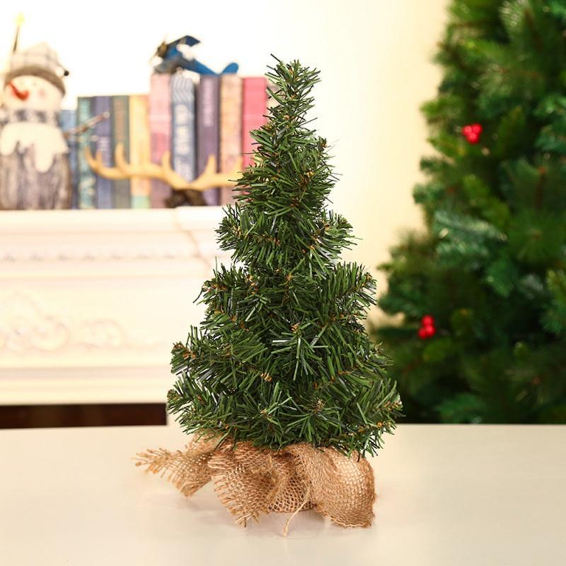 2019 Mini albero di Natale per i rifornimenti Desktop Decorazione di Natale 30 centimetri Green Tree festivi del partito