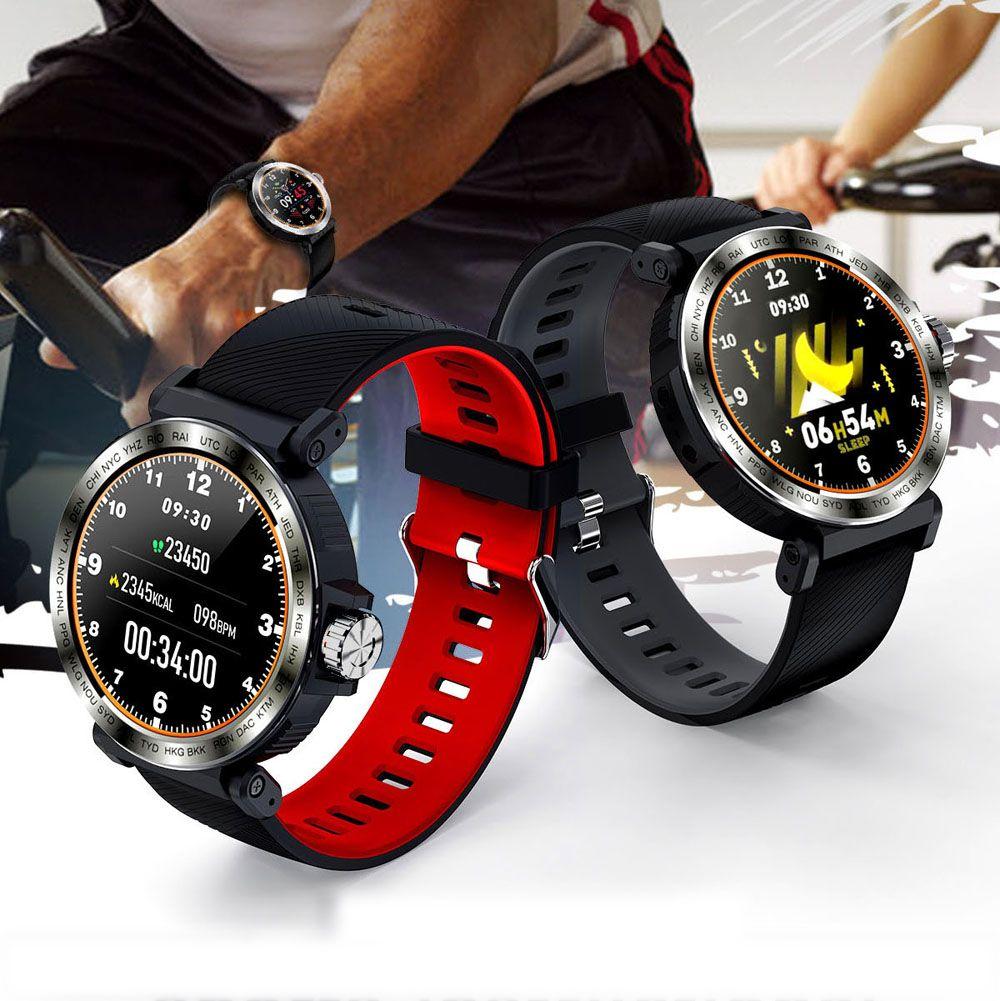 SENBONO S18 Esporte IP68 impermeável Tela relógio inteligente Toque Homens Relógio Heart Rate Monitor Smartwatch de Fitness Rastreador Bracelet