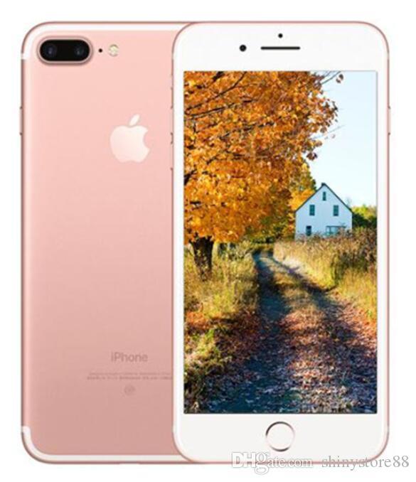 Apple Opple iPhone 7 7 Plus مع هاتف محمول باللمس الهاتف الخليوي مقفلة 32GB 128GB iOS12 رباعية النواة 12.0mp المستخدمة