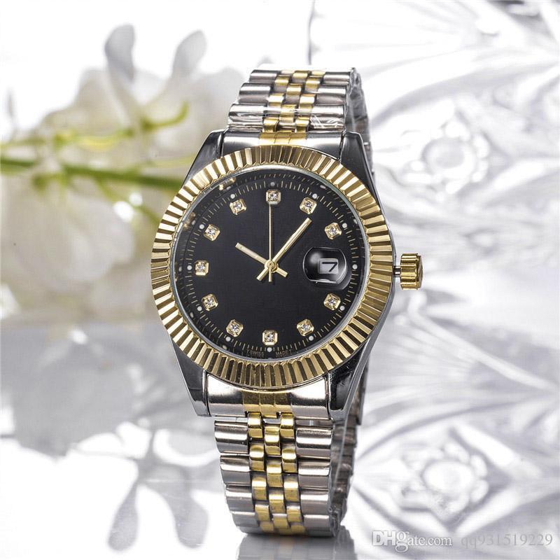 2019 Nouveau modèle montre de luxe robe de dame de mode calendrier marque célèbre diamant pleine Bijoux 38mm quartz Montre Femme de haute qualité Livraison gratuite