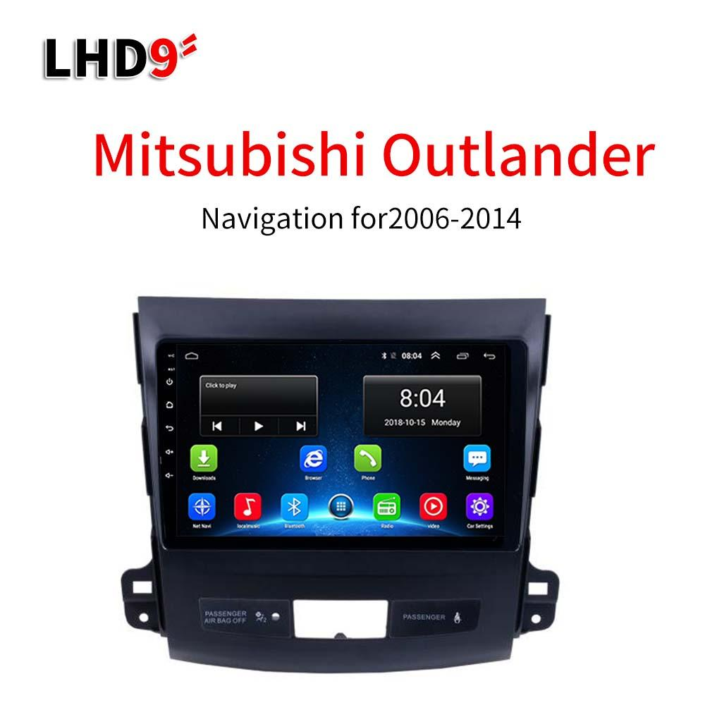 Lionet GPS Navigation for Car Mitsubishi Outlander 2006-2014 9Inch LM3004X