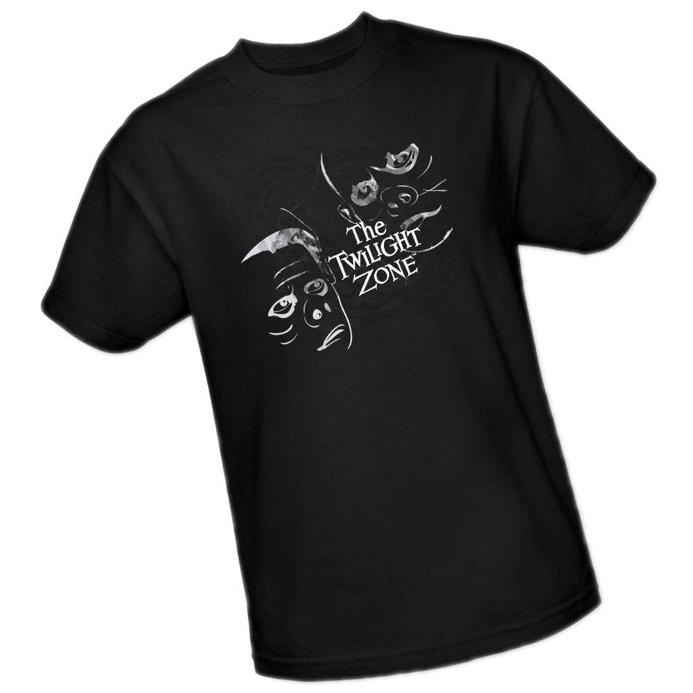 THE TWILIGHT ZONE - Episode 44: The Eye Of The Beholder -- Adult Size T-ShirtFunny free shipping Casual tee
