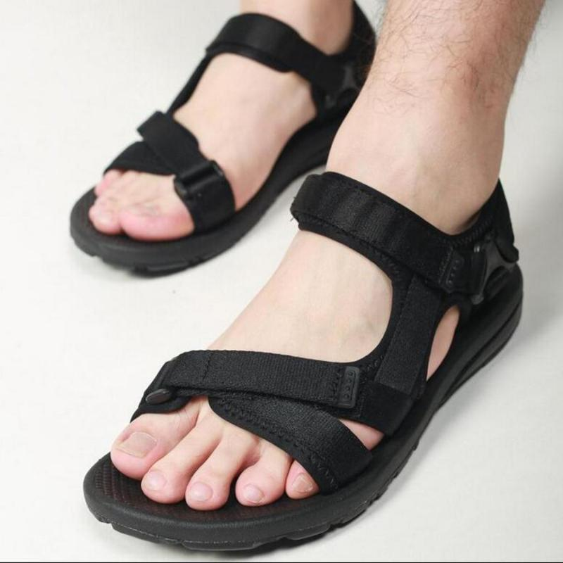 2019 Summer Men Sandals Gladiator Men's Beach Sandals Outdoor Men Shoes Roman Casual Shoe New Flip Flops Large Size 45