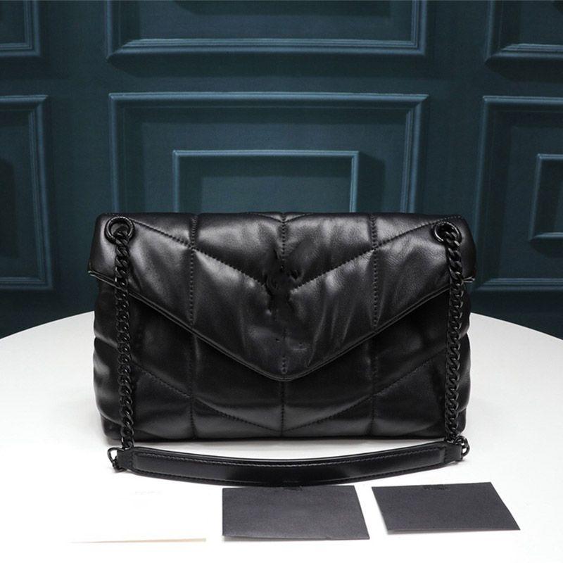 디자이너 명품 핸드백 지갑 LOULOU 호흡기 BAG 디자이너 크로스 바디 가방 여성 어깨 가방 패션 새로운 정품 가죽 핸드백 여성 가방