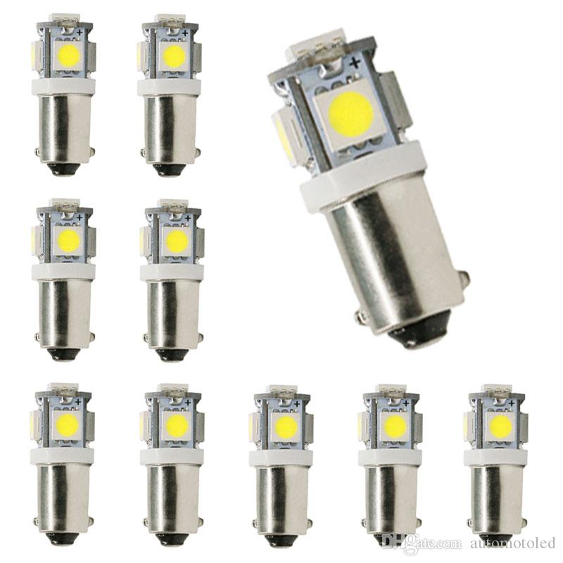 BA9S 12V 5SMD LED 전구 T4W H6W 363 5050 폭 빛 차 실내 돔지도 빛 자동 신호 램프 꼬리 빛