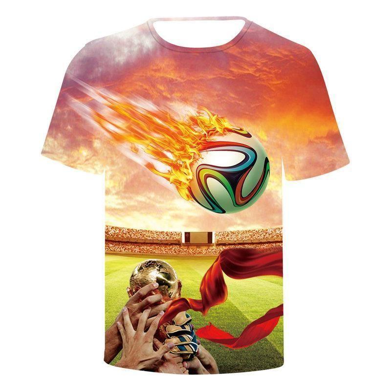 Copa Mundial de la camiseta del verano diseñador los países europeos y americanos flages Imprimir Man Tops