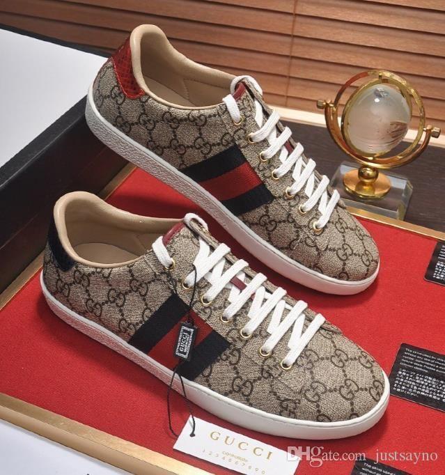 Gucci Tasche 2020 Yeni Moda Beyaz / Kırmızı Alt Womens Tasarımcı Sneakers Düşük En Popüler Basit Düz Erkekler Tasarımcı Sneaker Açık Unisex Sürüş Ayakkabı
