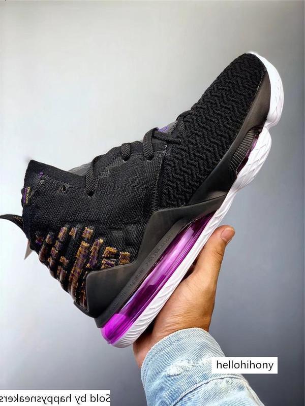 Authentiques LeBron Lakers de basket-ball pour Hommes Noir Blanc Aubergine Amarillo Battleknit 2.0 BQ3177-004 BQ3177-002 Chaussures de sport avec la boîte