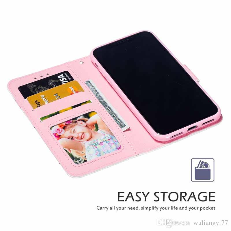 Wallet Flip PU Leather Silicone Case For iPhone XR XS X Card Slots Stand Back Cover For iPhone 11 Pro Max 8 7 Plus 6 6S 6Plus 7Plus
