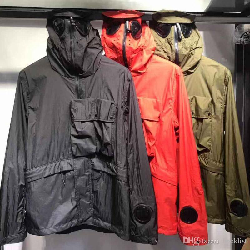 2019 حار adcp الرجال خندق معاطف الرجال النساء الشتاء معاطف الشارع قميص أعلى جودة مصمم جاكيتات ثلاثة ألوان M-2XL FY900