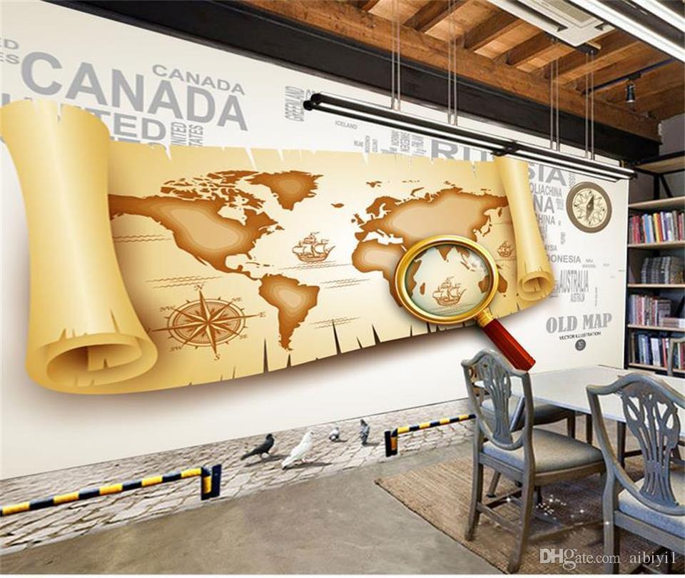 нестандартный размер 3d обои фото обои гостиная Пираты карибского мира картина диван тв фоне обои росписи нетканые наклейки