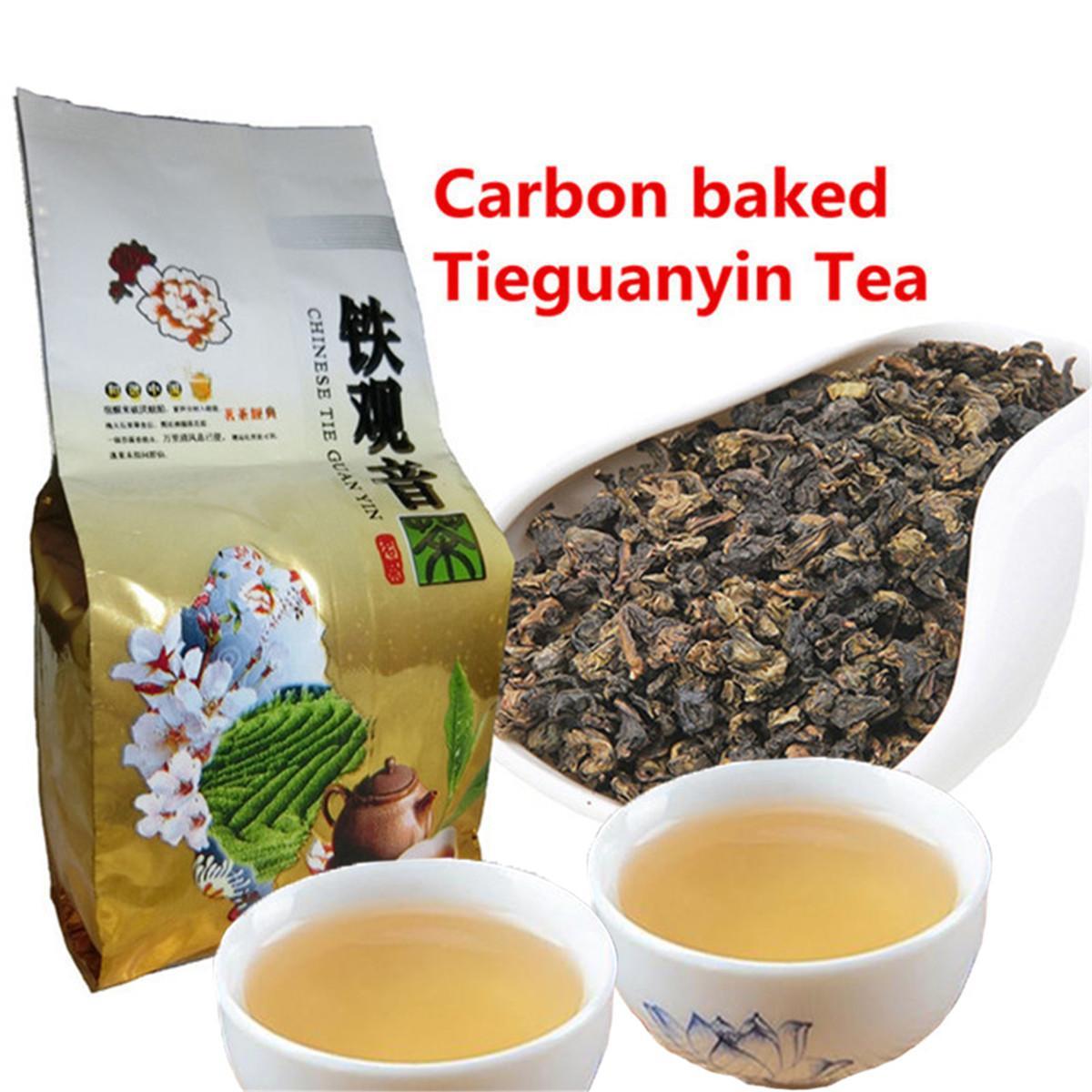 50г Китайский Органические Улун углерода Specaily Tieguanyin Улун Зеленый чай здравоохранения новый весенний чай зеленый еды