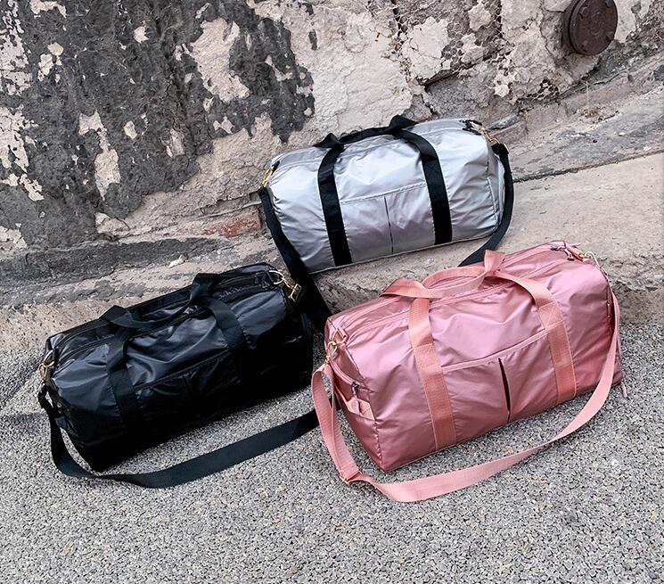 Designer-Free delivery 2019 dry and wet separation yoga fitness bag sports travel bag one-shoulder portable diagonal straddle bag