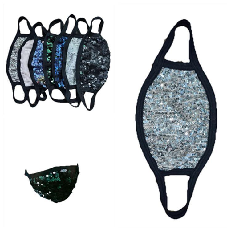 nueva personalidad polvo máscara estereoscópicas cara cómodo colorido lentejuelas máscara transpirable Máscaras de diseño forwashable T2I5981