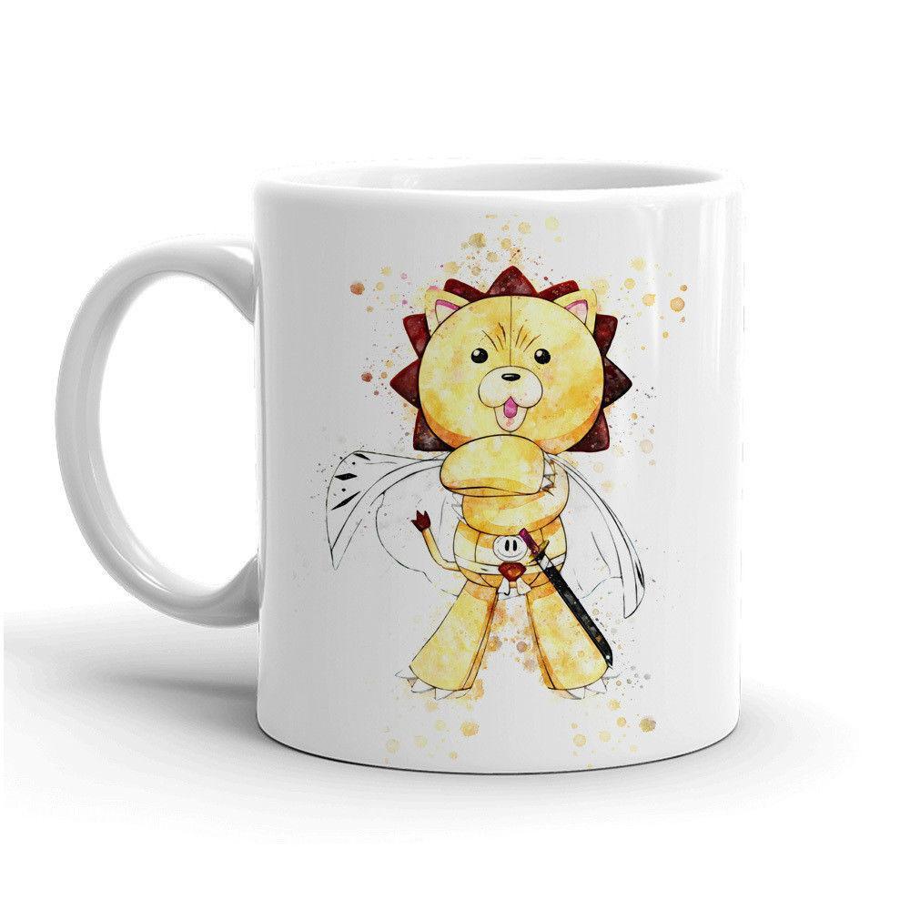 Bleach Anime Coffee Mug Changing Mug Christmas Gift Ichigo Tea Cup