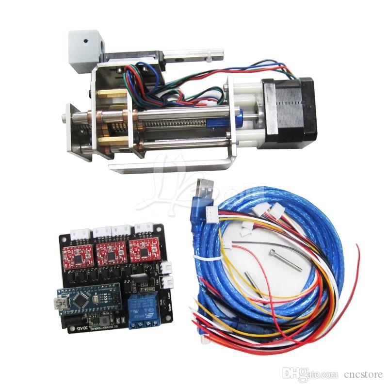 DIY plotter Suite LY DPS-01 Laser-Graviermaschine Umrechnen in 3 Achsen-CNC-Modell Z-Achse DIY Gleit-Plattform Suite mit Stift Klemm