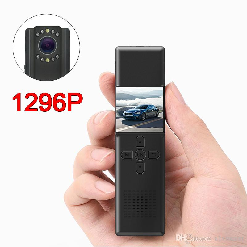 32MP WIFI كاميرا HD 1296P قيادة السيارة DVR مسجل فيديو أمن الشرطة كاميرا 170 درجة IR للرؤية الليلية كاميرات الفيديو الرقمية البسيطة