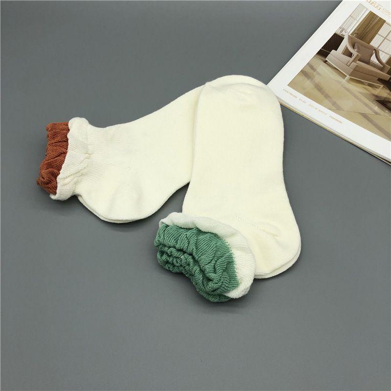 20SS été Nouveau Arrivée Hommes Sock Hommes Femmes Hommes Sock été décontracté Adolescent confortable de haute qualité Solide Couleur Sock