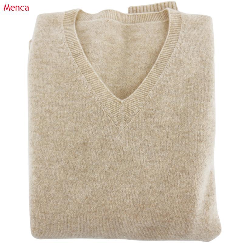Suaves Cashmere elásticas Camisolas e pulôveres para as Mulheres Outono-Inverno Sweater V-Neck Feminino Jumper malha Marca Tops T200101