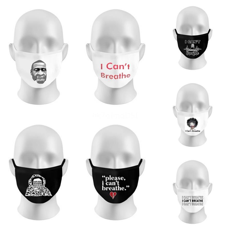 Designer Carta Máscara Facial Algodão Mask respirável Válvula PM2.5 de carbono com 2 Filter-lavável reutilizáveis Rosto er F # 850