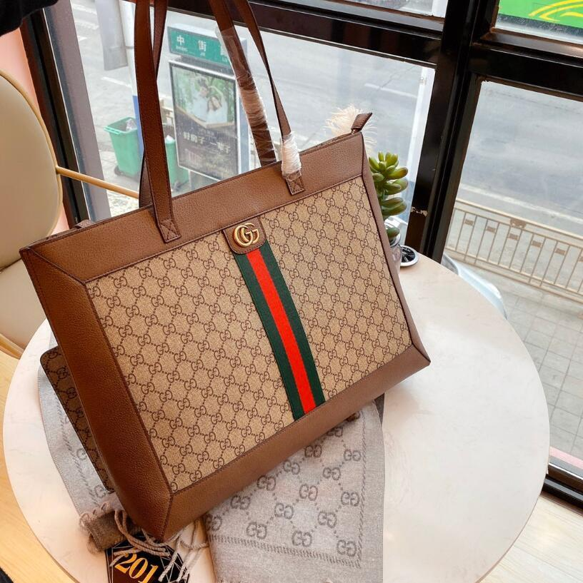 fashion bag 2019,high quality,leather,fashion,Tophigh-end, men and women bag, handbag, shoulder bag, backpack, model , size44CM