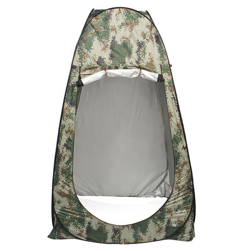 1PC لا كوة خيمة الصيد في الهواء الطلق التلقائي تغيير الملابس خيمة المنقول مرحاض الميدان تغيير الملابس غرفة