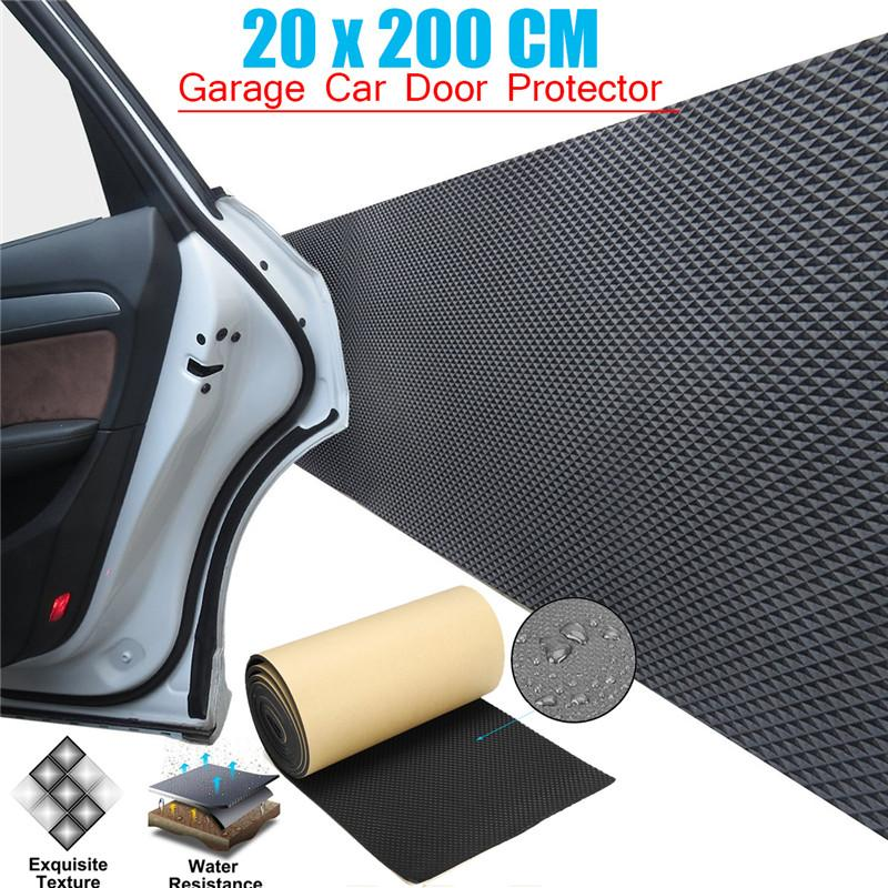 Car Door Guard Garage Bumper Bodywork Anti Scratch Adhesive Vehicle Truck Parking Protector Wall Corner Foam Sticker 200x20cm