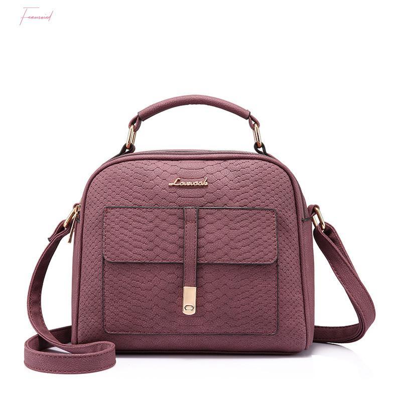 Petit épaule Sac bandoulière pour dames Mode Femme sac avec poignée supérieure Messenger Bag Femme Designer