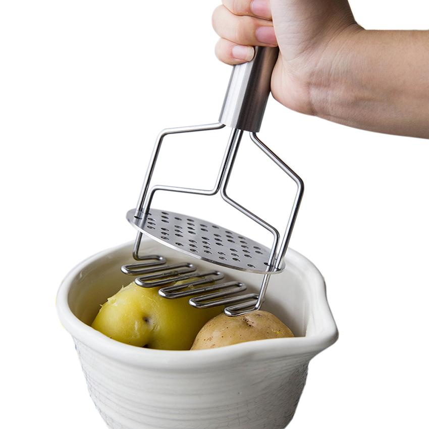 Экологичная Творческая кухня Инструменты Картофельная дробилка Пюре из нержавеющих стал прессованным Картофель красного картофеля грязевых инструментов