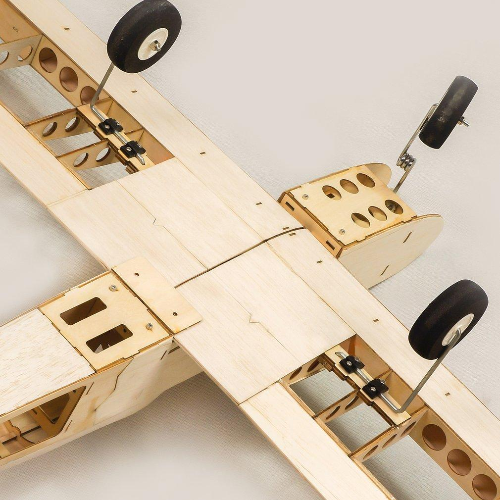 EP GP Astro Balsa Wood Training Plane 1.4M Wingspan Biplane RC Airplane Aircraft Woodiness Model Toys DIY KIT for Kid