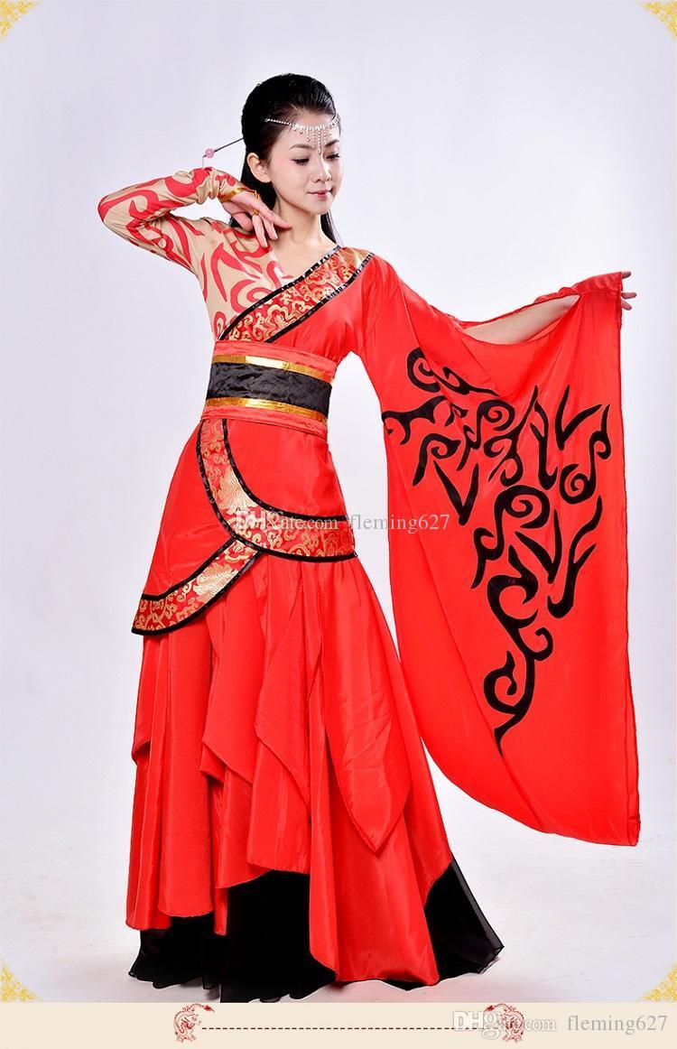 Восточный веера танец костюм индийский стиль танцевальная одежда старинный стиль костюм женский сценический костюм для певцов