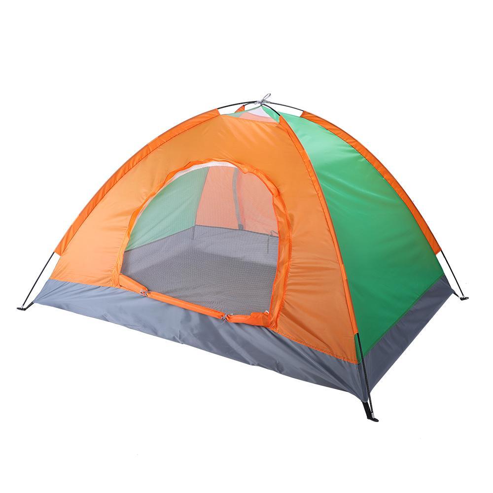 2 человек автоматические складные палатки семейные палатки пляжная палатка кемпинг двойная скорость открытия с двойной дверью кемпинг купол палатка Бесплатная доставка