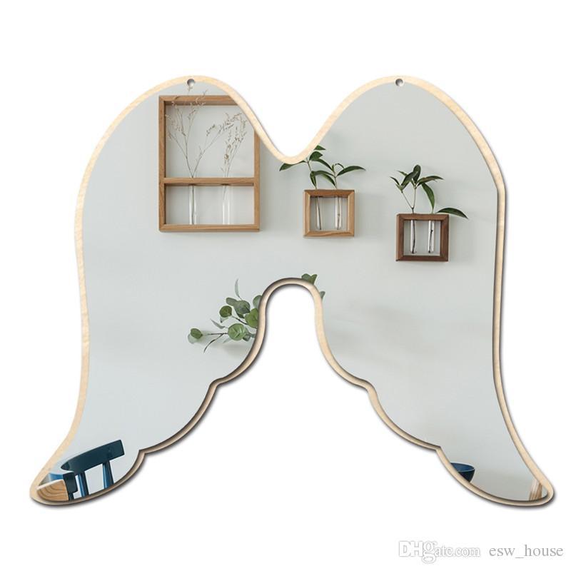 Acheter Chambre D\'enfants Miroir Chambre De Bébé Lapin Étoile Bois  Acrylique Cadre De Miroir Créatif Maison Art Décorations Murales De $4.13  Du ...
