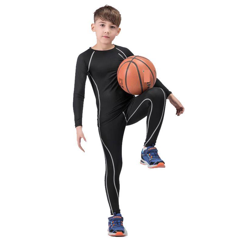 2019 Boy Training Sportswear, Quick Drying Perspiration Sport Wear Children  Rashgard Kit Tracksuit Boy Girl Sports Suit From Duriang, &Price