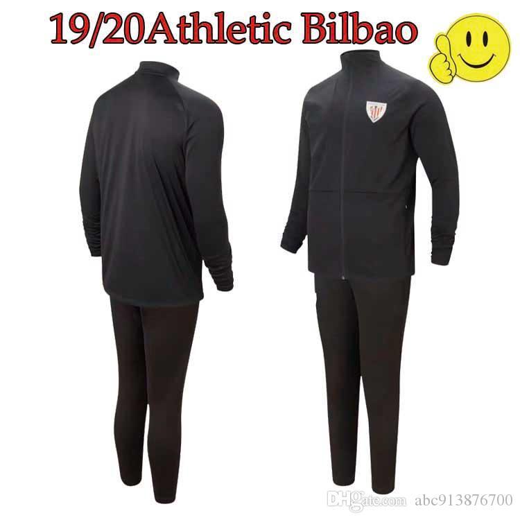 تعيين 2019 2020 بلباو لكرة القدم الكبار سترة سوداء 19 20 أدوريز MUNIAIN WILLIAMS I.MARTINEZ كرة القدم الرياضية 19 20 أتلتيك بلباو